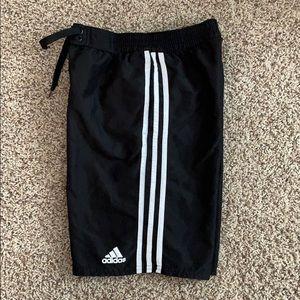Adidas boys swim trunks with liner